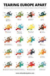 Os mapas dos estereótipos
