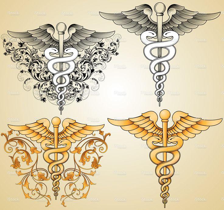 Doctors Caduceus stock vector art 13885307 - iStock