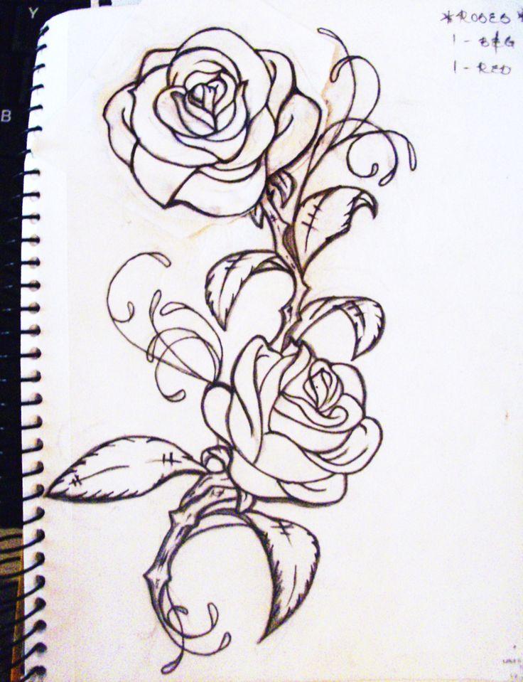 25 best ideas about rose vine tattoos on pinterest