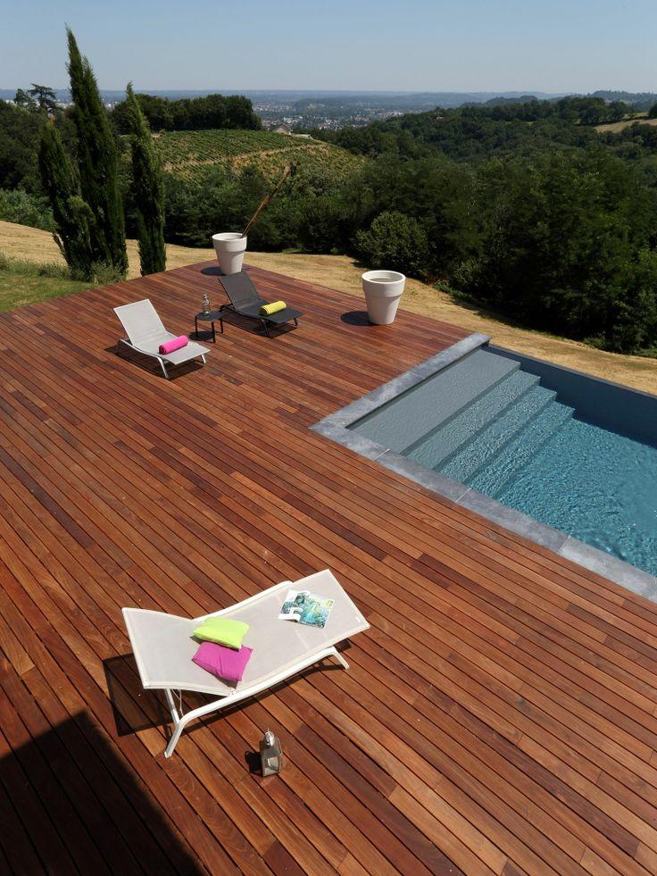 60 best piscine terrasse images on Pinterest Decks, Zen gardens