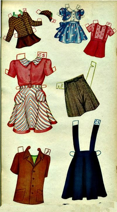 Carol Sue And Her Friends Paper Dolls Are Saalfield And Are From The Year 1948 I Loved Cut Out Dolls And Had Loads Of Them