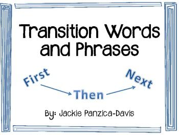 Transitional Words Worksheets Englishlinx com