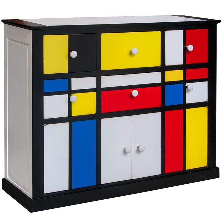 83 best modriani images on pinterest de stijl piet mondrian and abstract art. Black Bedroom Furniture Sets. Home Design Ideas