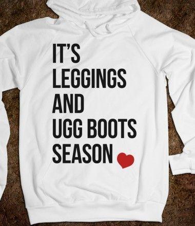 It's Leggings and Ugg boots Season #ugg