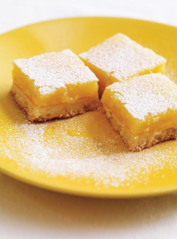 Recette de Ricardo de carrés au citron