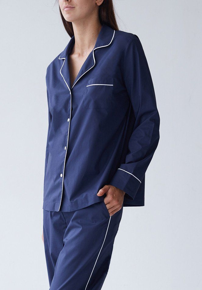 Frank Pyjama Set - Navy