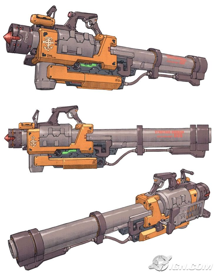 Some weapon concept arts from Exteel. A game by NCsofts. I was really sad when they shut it down in 2010. I couldn't find the artists behind these designs tho, but whoever they are, they are awesome!