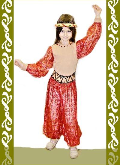kostým orientální tanečnice, půjčovna Ladana