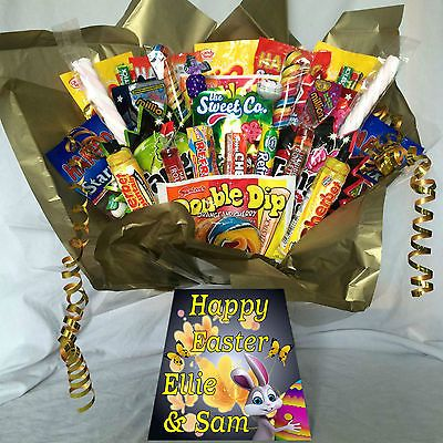 Xxl #retro sweet hamper #bouquet dib dab sherbit #popping candy(great easter gift,  View more on the LINK: 	http://www.zeppy.io/product/gb/2/272168238431/
