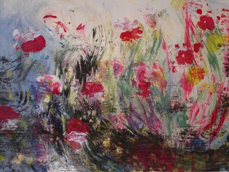Rukoileminen on niitty - hengellisen matkakumppanuuden ryhmä syksystä  toukokuuhun alk. 25.9.14 -  rukoushelmet, hellä hiljainen rukouslaulu, värit ja maalaaminen, hengittäminen, hiljaisuus, lepääminen