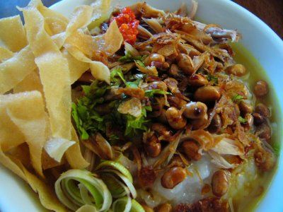 Indonesia Secret Kitchen: Bubur Ayam recipe