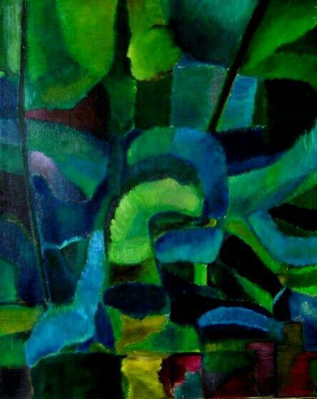 Albero verde 1954