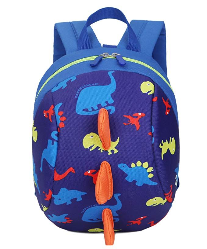 Dinosaur Children Backpack and Safety Leash Harness School Bag Anti-Lost Toddler