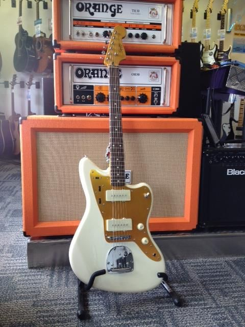 #WishlistWednesday! The Squier by Fender - Stop Dreaming, Start Playing! J Mascis #Jazzmaster! Get ready to rock like the Dinosaur Jr legend with this great value, beautiful looking and awesome sounding #Guitar just £373. Try it out in store at Guitarbitz Guitar Shop or buy it online now at guitarbitz.com.