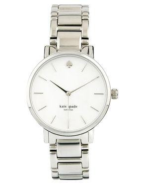 Kate Spade Gramercy Silver Watch