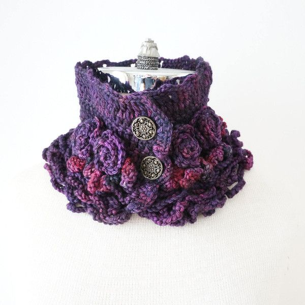 Rose Scarf in a lovely deep purple hand painted merino wool, rose... ($45) ❤ liked on Polyvore featuring accessories, scarves, purple shawl, merino shawl, purple scarves, merino wool scarves and merino wool shawl