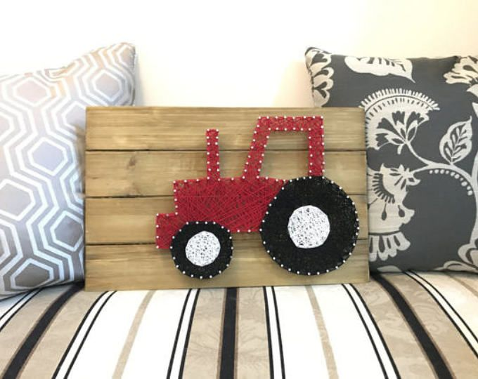 Browse unique items from WellOwlBeCrafty on Etsy, a global marketplace of handmade, vintage and creative goods. Red tractor nursery