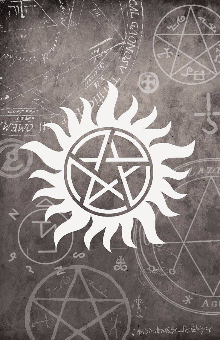 Supernatural Symbol Poster - 11 x 17 Glossy Cardstock - Unisex teenage gift…