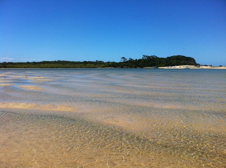 Noosa River on a gorgeous January Day