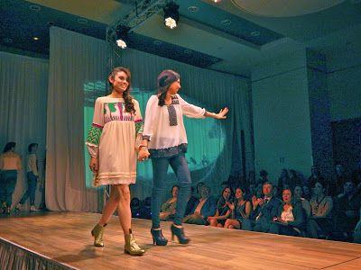 Bidxáa by  Silvia Suárez Fashion Show www.lamodaya.com #lamodaya #fashion #Oaxaca #moda #Mexico #artesanal #bordados