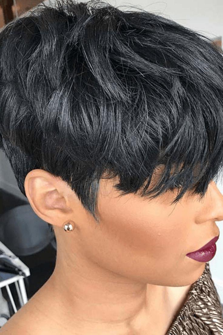 20 einfache alltägliche Frisuren für schwarze Frauen #schwarz #alltag #frisuren #frau