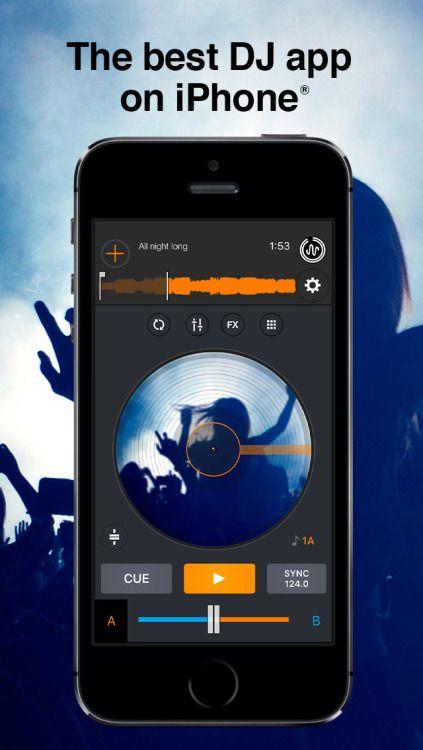 Cross DJ Pro - Mix your music Music Entertainment iPhone App...: Cross DJ Pro - Mix your music Music… #iphone #Music #Entertainment
