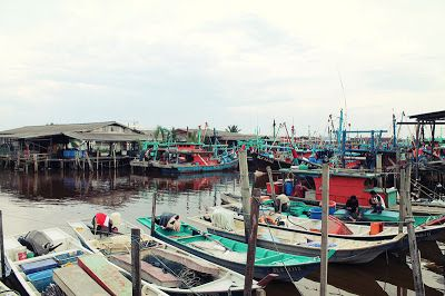 Bagan is the fishing village in Sekinchan and it is located right opposite Site B and Site C village.
