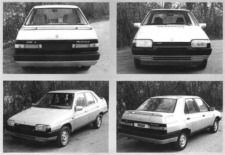 Skoda Felicia Prototype