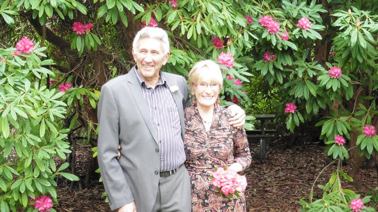 Lesley and Jeff, in Ashburton, 19.8.14