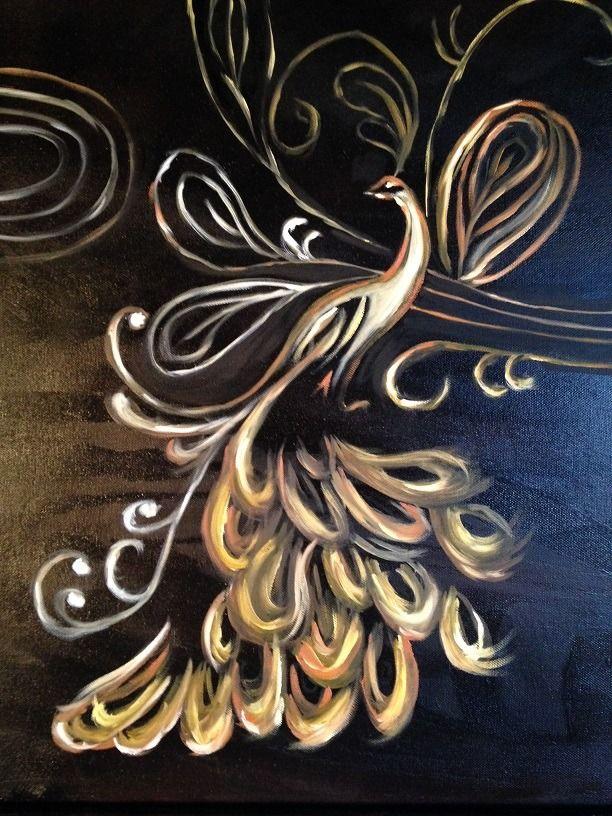 1000 id es sur le th me paon dessin sur pinterest plume for Style de peinture