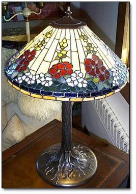 Stained glass lamps, lighting