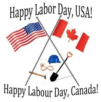 Happy Labor Day USA - Happy Labor Day Canada