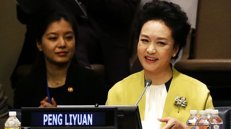China's first lady Peng Liyuan impresses with fluent English ...