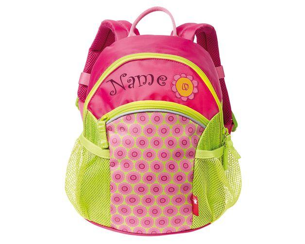 **Sigikid Mini-Rucksack Florentine incl. NeedleCat-Bestickung Wunschname**   Der **Mini-Rucksack Florentine** ist der ideale Begleiter für den Kindergarten-Start.  Ein trendy Rucksack für die...