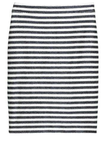 Raffia Pencil Skirt | Love STRIPES!
