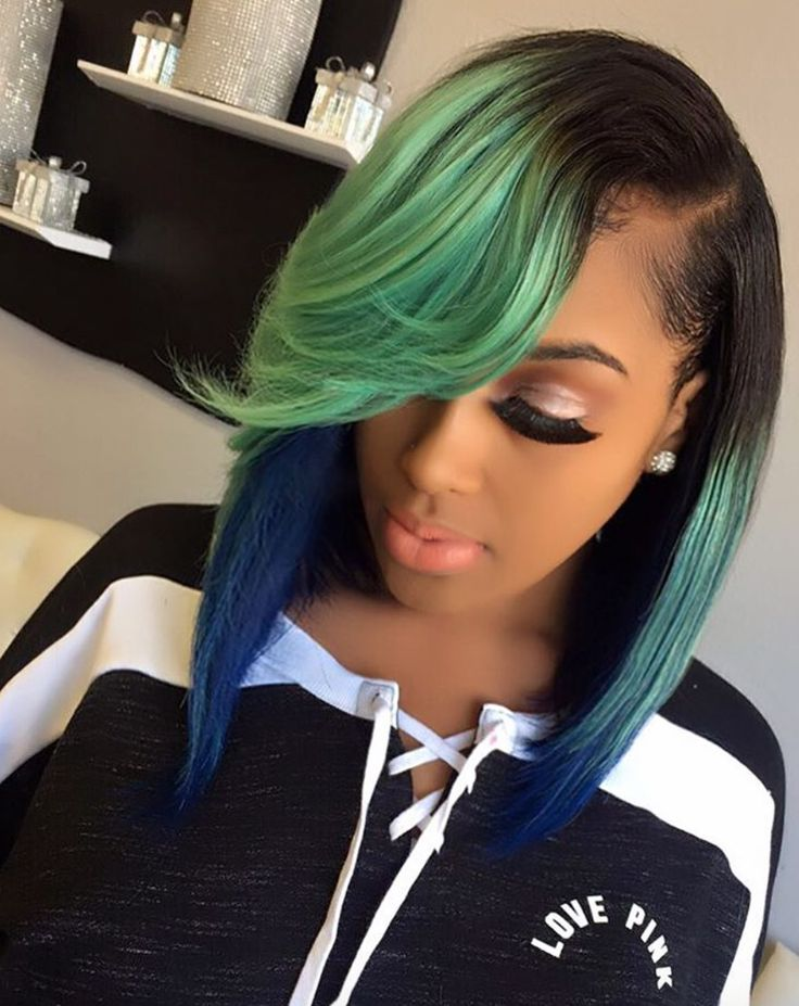 Dope color combo via @thehairicon - https://blackhairinformation.com/hairstyle-gallery/dope-color-combo-via-thehairicon/
