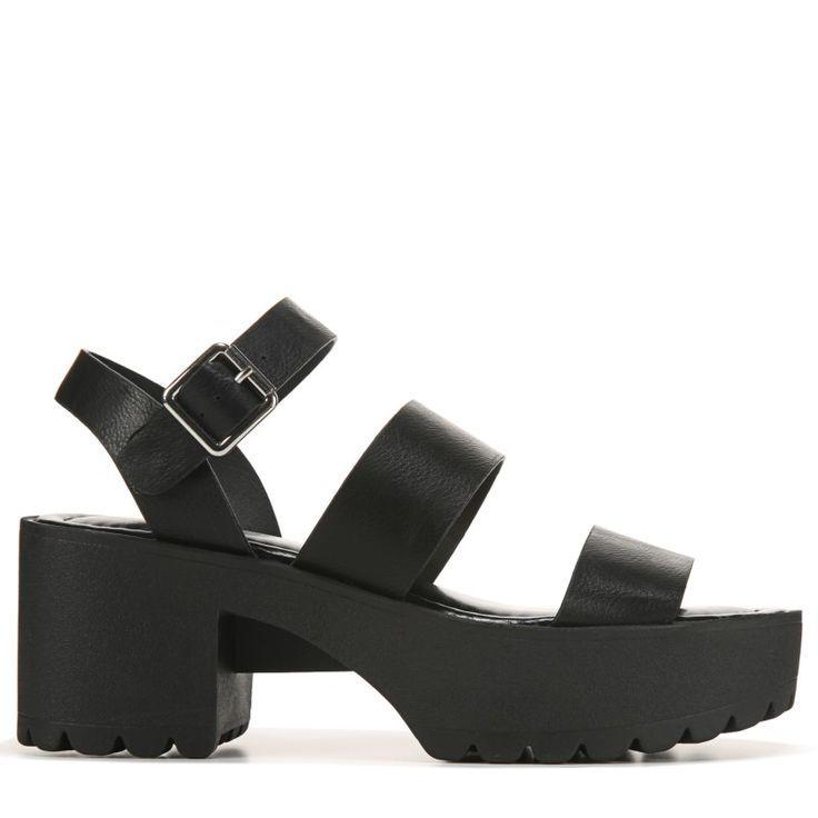 Carterr Platform Sandals (Black