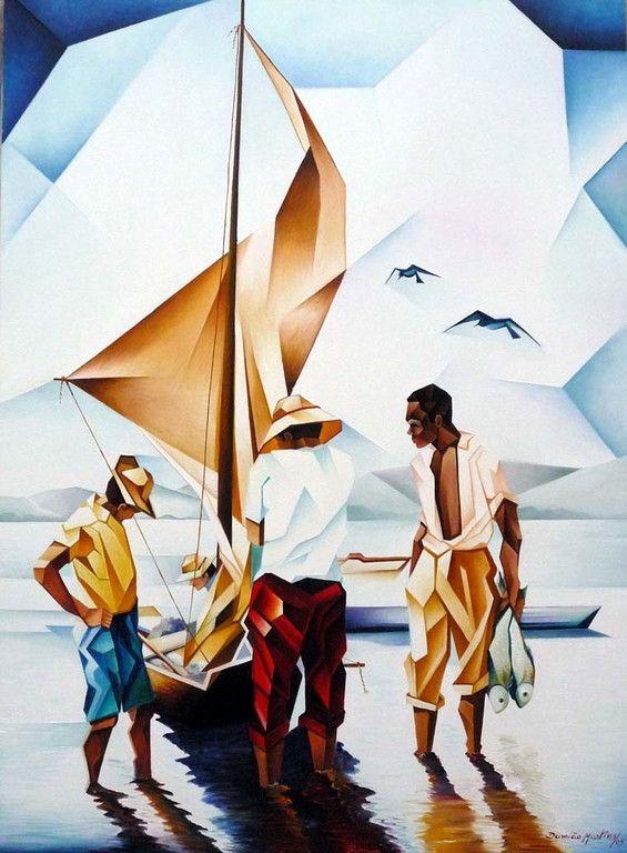 """""""Os Pescadores""""-Damiao Martins-Brazil"""