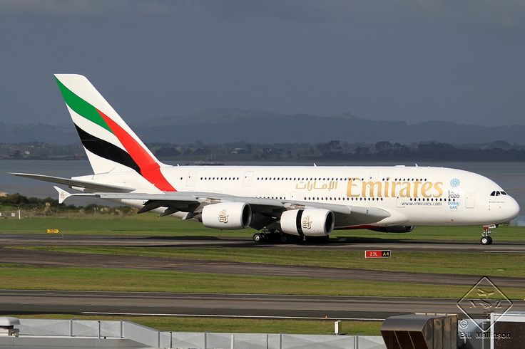 We flew from Auckland to Brisbane on a Emirates A380 (Registration A6-EDZ). This plane has been part of the Emirates fleet since October 2012.
