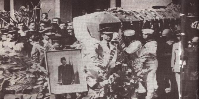 Ir. Soekarno, Proklamator Republik Indonesia wafat