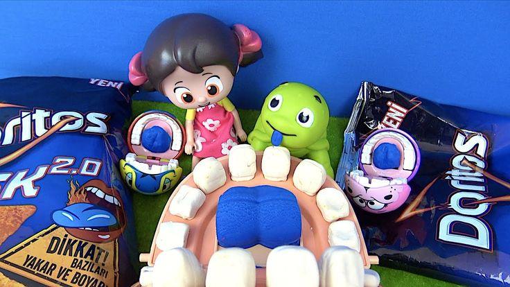 Play Doh Dişçi Açlıktan Stres Çarkı Çeviriyor Doritos Risk 2.0 Ağlamadan...