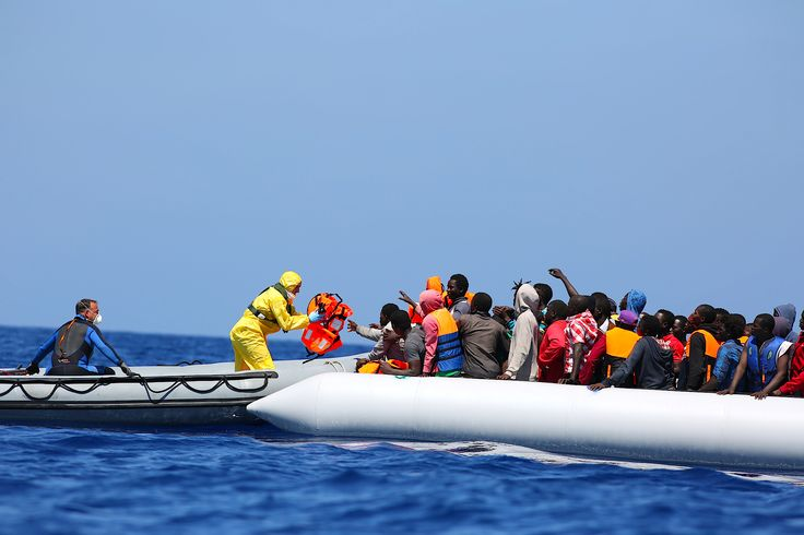 Record 107,500 migrants arrived in EU in July