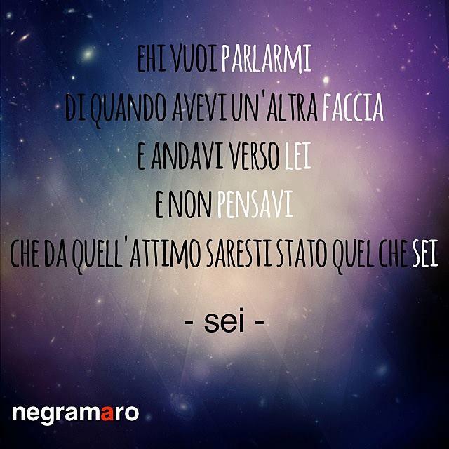 #negramaro #sei