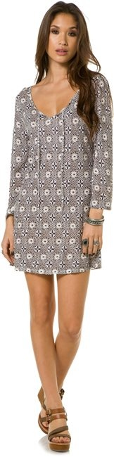 QUIKSILVER DOTTY LACE TUNIC > Womens > Clothing > Dresses | Swell.com