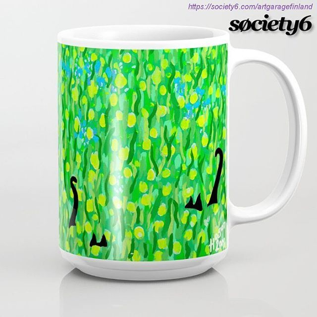 from the Mollycat S6 collection - 'Two Black Cats' mug @society6 !! 😀☕© https://society6.com/artgaragefinland/collection/mollycat #society6living #mug #cup #shareyoursociety6 #society6 #coffeemugs #cats #blackcat #blackcats #drink #green #art #design #designer #s6 #instamug #instagreen #instacats #catstuff #catmugs #instalike #instalikes #designoftheday #mollycatfinland #catlovers #catscatscats #twoblackcats