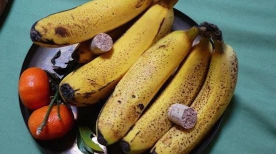 Mettez un bouchon en liège pour conserver les fruits