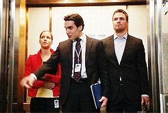 One of my favorite scenes on Arrow. I love how protective Oliver gets of Felicity.