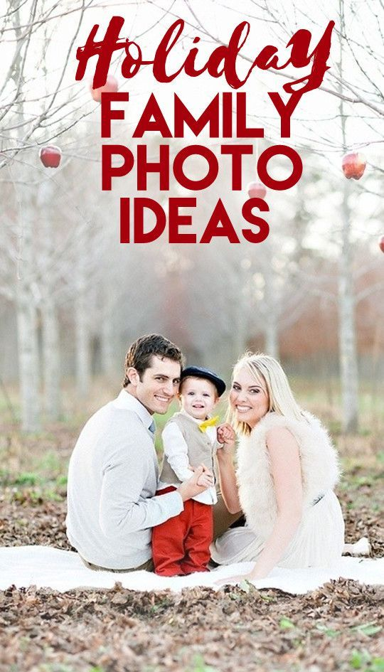 Holiday Family Photo Ideas That Are Downright Adorable