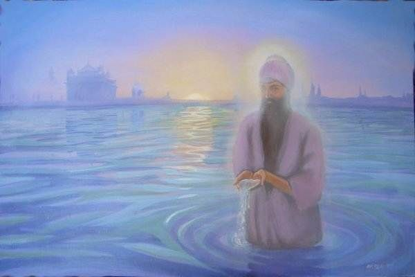 Ang Sang Wahe Guru Mantra means is that the Creator of this universe is guiding us in our every step and leading us from darkness to light.