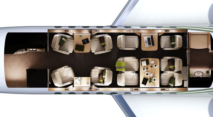 Dassault falcon 2000lx floor plan lea mobile falcon for Interieur falcon 2000